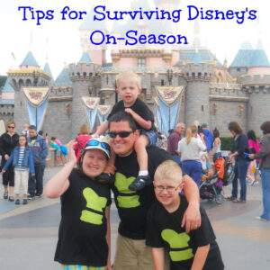Tips for surviving Disney's on season