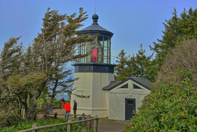 Cape Meares Oregon Coast Lighthouse