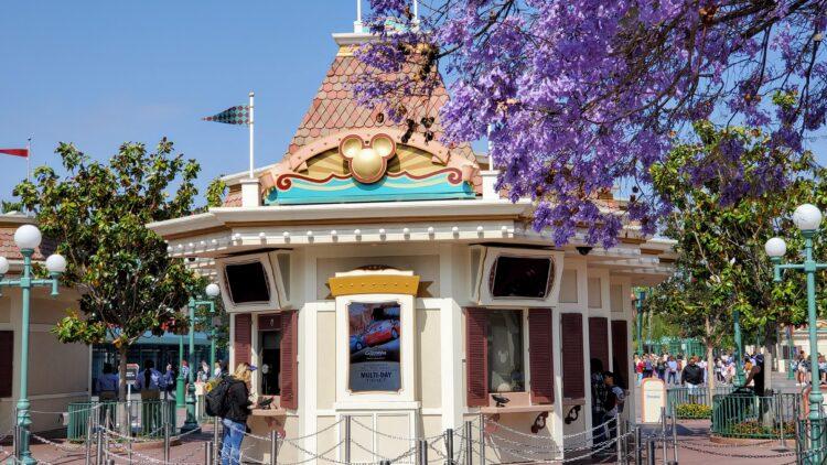 Disneyland Ticket Booth